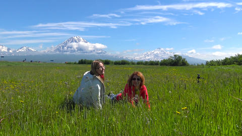 Journey to Kamchatka Peninsula. Valley of Koryaksky and Avachinsky volcanoes 画像