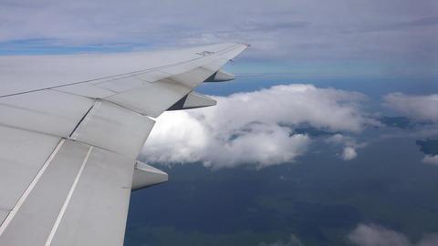 Journey to Kamchatka Peninsula. Take-off airliner in Petropavlovsk Kamchatsky ビデオ