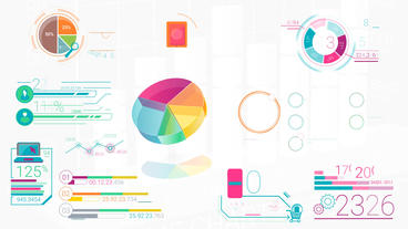 Colorful Corporate Infographic Elements After Effects Template