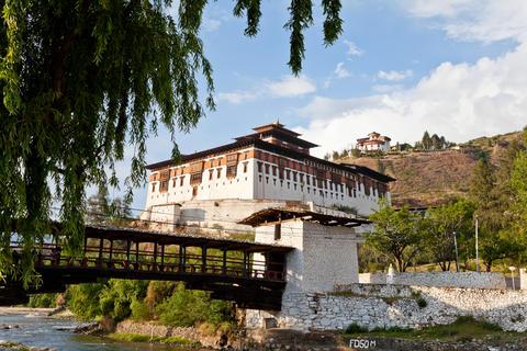 Rinpung Dzong in Paro Fotografía