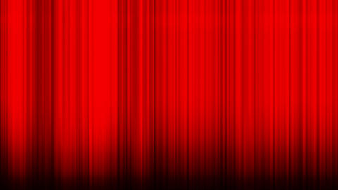 Waving red curtain Stock Video Footage