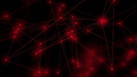 Abstract moving background.Network Connection , seamless loop Animation