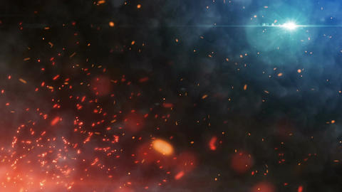 Epic Fire Footage Background GIF