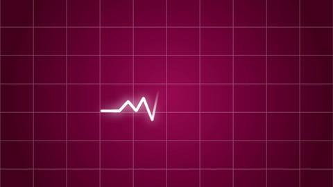 electrocardiogram monitor Heart rate CG Medical Animation