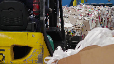 Big Factory For Recycling Paper and Carboard Filmmaterial