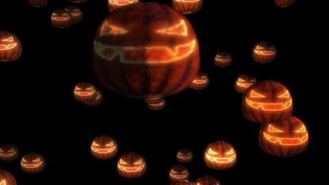4k Halloween Spooky Pumkin Face 0