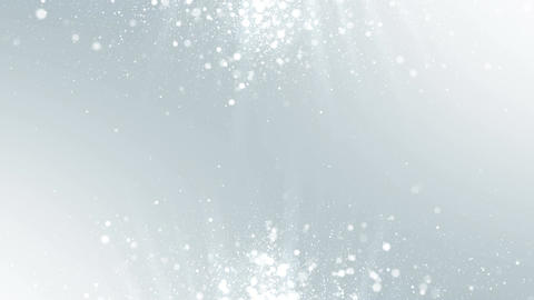 Particles white business clean bright glitter bokeh dust abstract background Animation