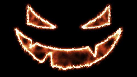4k Halloween Spooky Pumkin Face 1