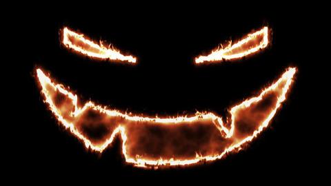 4k Halloween Spooky Pumkin Face 2
