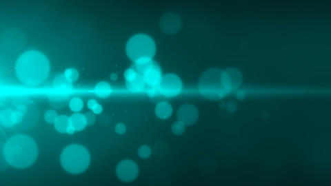 particle abstract flow background loop able cyan Animation
