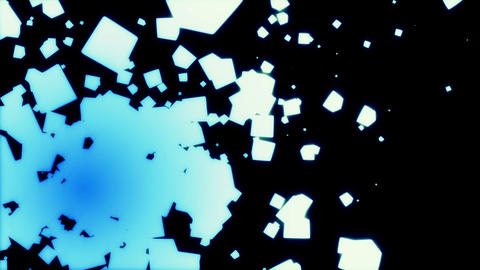 abstract cube particle ME P 4 1 Animation