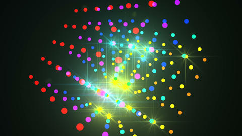 abstract Form colorful light P 1 1 4 K Animation