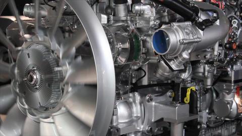 heavy truck engine Footage