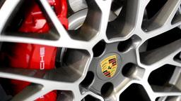 car wheel - disc brake - Porsche Footage