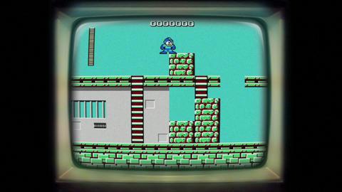 Mega Man nintendo 8 bit gameplay Footage