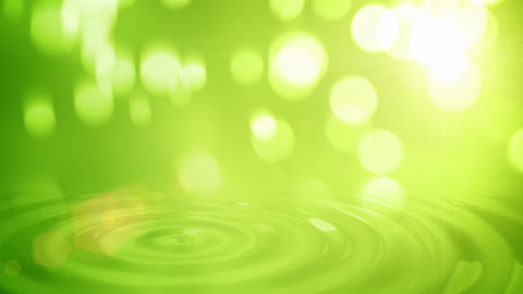Natural green abstract motion background seamless loop Animation