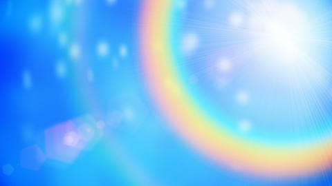 Rainbow motion background seamless loop Animation