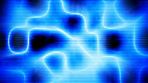 Abstract blue high-tech background seamless loop Animation