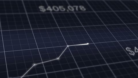 Financial graph going up success bussiness ビデオ