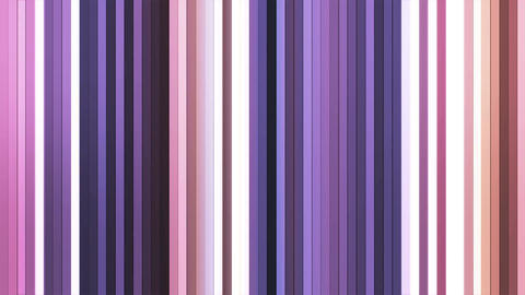 Broadcast Twinkling Vertical Hi-Tech Bars, Purple, Abstract, Loopable, 4K Animation