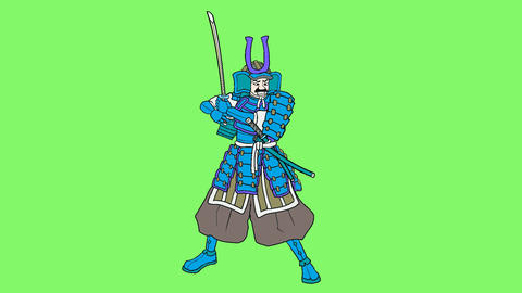 Samurai bushi revise Animation