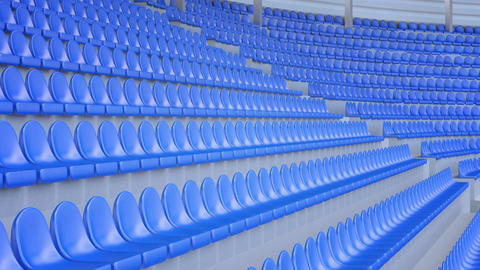 Empty seats in a stadium Live Action