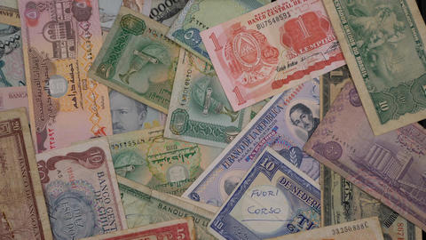 old banknotes Image