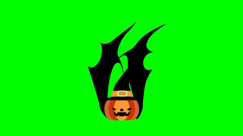 Pumpkin halloween Animation
