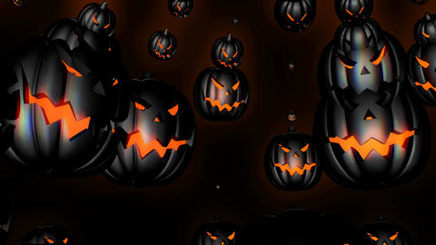 Halloween Parties 4k 4 Vj Loop Animation