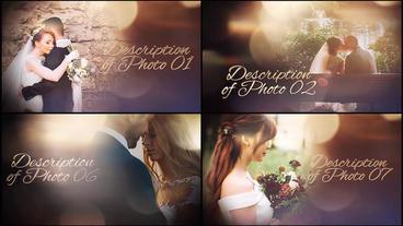 Wedding Photo Album Slideshow After Effectsテンプレート