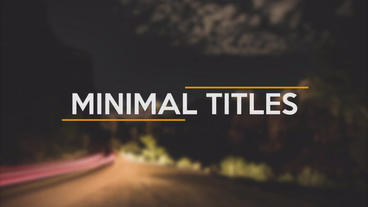 Titles Pack Premiere Pro Template