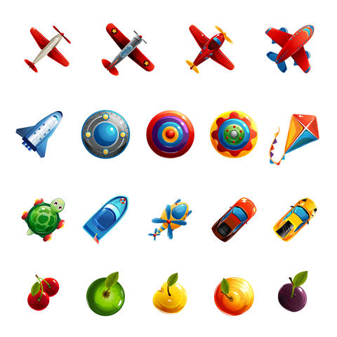 Kids Toys And Objects Fotografía
