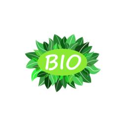 Bio green logo Vector