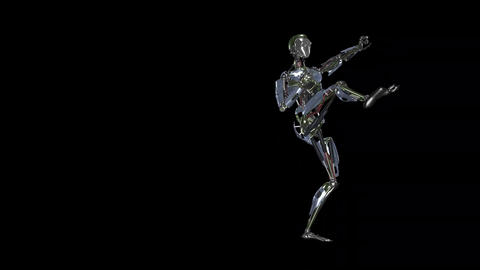 Iron Man Fighter - II - LS -Transparent Animation