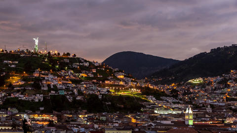 Quito, Ecuador Time Lapse Footage