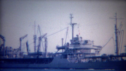 1956: USA Navy ship LCS-32 Independence Littoral combat ship Footage