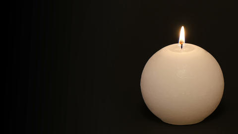 burning candle time lapse with text space 4k 11783 Footage