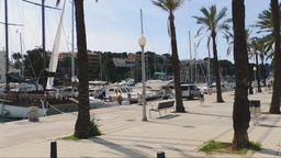 Majorca Porto Cristo marina port in Manacor of Mallorca Balearic island at spain Footage