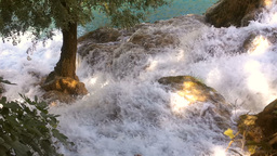 Krka National Park is one of Croatian national parks, named after river Krka tha Footage