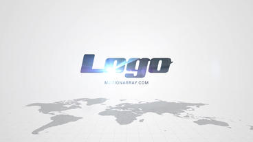 Maps Clean Logo After Effects Template