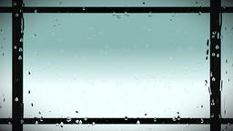 Blue Rain Stripesin the Rain Animation