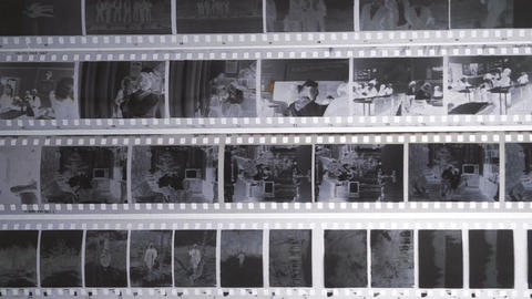 Film Negatives Footage