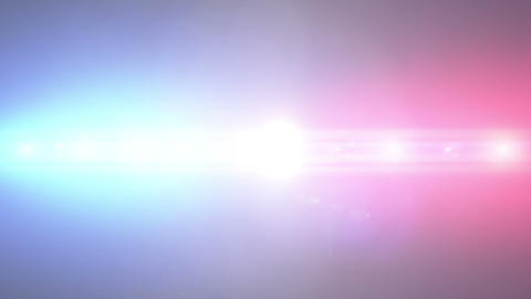 Police lights background, loop Animation