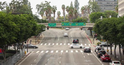 One Ten Freeway Entrance Timelapse Footage
