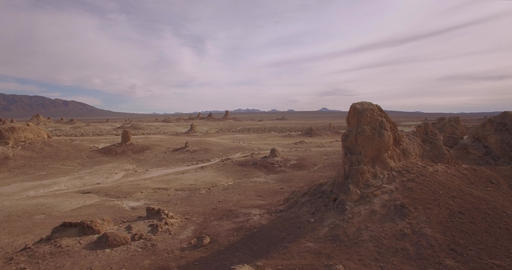 Horizontal View Of Trona Footage