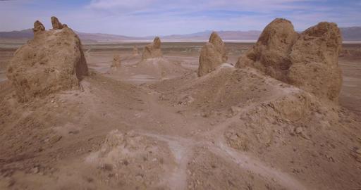 In Between Rock Structures Footage