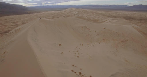 Top Of The Sand Dunes Footage