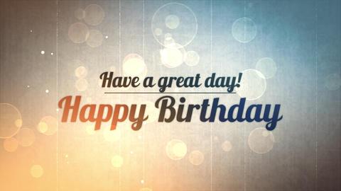 birthday title 03 Animation