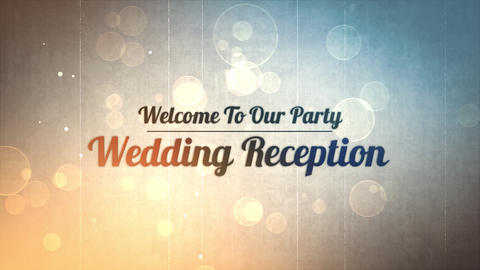 wedding title 03 Animation