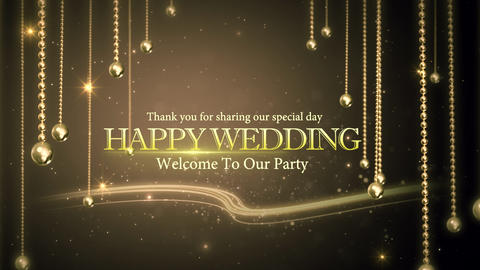 wedding title 06 Animation